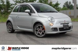 2012 Fiat 500 Sport BC CAR, GREAT ON GAS, PERFECT FOR THE CITY!