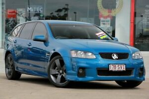 2012 Holden Commodore VE II MY12.5 SV6 Sportwagon Z Series Blue 6 Speed Sports Automatic Wagon Kippa-ring Redcliffe Area Preview