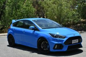 2016 Ford Focus LZ RS AWD Blue 6 Speed Manual Hatchback St Marys Mitcham Area Preview