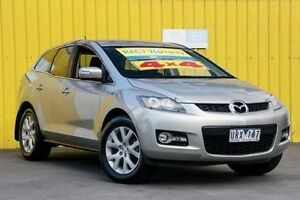 2007 Mazda CX-7 ER1031 MY07 Classic Silver 6 Speed Sports Automatic Wagon Ferntree Gully Knox Area Preview