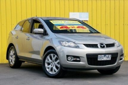 2007 Mazda CX-7 ER1031 MY07 Classic Silver 6 Speed Sports Automatic Wagon Upper Ferntree Gully Knox Area Preview