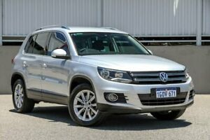 2015 Volkswagen Tiguan 5NC MY15 132 TSI (4x4) Silver 7 Speed Auto Direct Shift Wagon Cannington Canning Area Preview