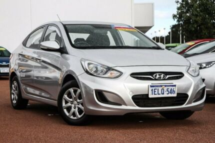 2014 Hyundai Accent RB2 Active Silver 4 Speed Sports Automatic Sedan East Rockingham Rockingham Area Preview