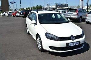 2013 Volkswagen Golf 7 90TSI White Sports Automatic Dual Clutch Strathmore Heights Moonee Valley Preview