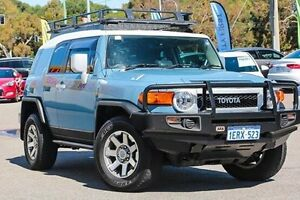 2014 Toyota FJ Cruiser GSJ15R MY14 Blue 5 Speed Automatic Wagon Myaree Melville Area Preview