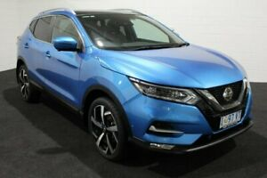 2019 Nissan Qashqai J11 Series 2 Ti X-tronic Blue 1 Speed Constant Variable Wagon Glenorchy Glenorchy Area Preview