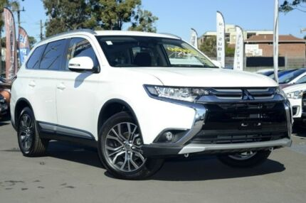 2016 Mitsubishi Outlander ZK MY16 XLS 2WD White 6 Speed Constant Variable Wagon Fremantle Fremantle Area Preview
