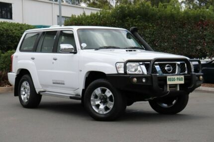 2012 Nissan Patrol Y61 GU 8 ST White 4 Speed Automatic Wagon Acacia Ridge Brisbane South West Preview