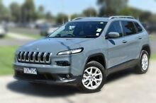2015 Jeep Cherokee KL MY15 Longitude Grey 9 Speed Sports Automatic Wagon Berwick Casey Area Preview