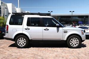 2010 Land Rover Discovery 4 Series 4 MY11 TdV6 CommandShift Silver 6 Speed Sports Automatic Wagon Osborne Park Stirling Area Preview