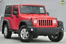 2015 Jeep Wrangler JK MY2015 Sport Red 6 Speed Manual Softtop East Rockingham Rockingham Area Preview