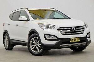 2013 Hyundai Santa Fe DM MY13 Elite White 6 Speed Sports Automatic Wagon Seven Hills Blacktown Area Preview