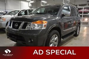 2012 Nissan Armada PLATINUM 4X4 Navigation (GPS),  Leather,  Hea