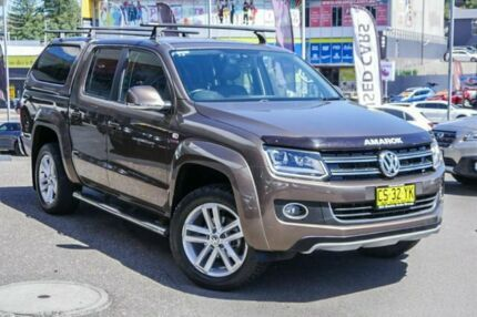 2015 Volkswagen Amarok 2H MY15 TDI420 4Motion Perm Ultimate 8 Speed Automatic Utility Brookvale Manly Area Preview