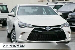2015 Toyota Camry AVV50R Atara S Diamond White 1 Speed Constant Variable Sedan Hybrid Brookvale Manly Area Preview