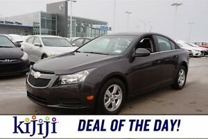 2014 Chevrolet Cruze LT Leather,  Sunroof,  Bluetooth,  A/C,