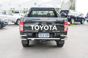 2013 Toyota Hilux KUN26R MY12 SR Xtra Cab Black 5 Speed Manual Utility