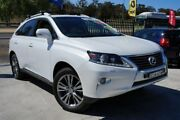 2012 Lexus RX450H GYL15R MY12 Luxury White 6 Speed Constant Variable Wagon Hybrid Pearce Woden Valley Preview