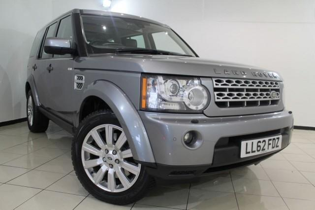 2012 62 LAND ROVER DISCOVERY 3.0 4 SDV6 HSE 5DR AUTOMATIC 255 BHP DIESEL