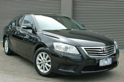 2010 Toyota Aurion GSV40R MY10 AT-X Black 6 Speed Auto Seq Sportshift Sedan South Melbourne Port Phillip Preview