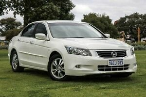 2011 Honda Accord 8th Gen MY10 VTi White 5 Speed Sports Automatic Sedan Victoria Park Victoria Park Area Preview
