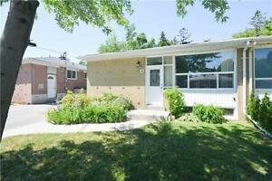 fully renovated 2 bedroom brick Basement for lease in Aurora