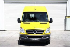 2011 Mercedes-Benz Sprinter NCV3 MY11 313CDI High Roof LWB Yellow 5 Speed Automatic Van Seaford Frankston Area Preview