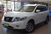 2014 Nissan Pathfinder R52 MY14 ST X-tronic 2WD White 1 Speed Constant Variable Wagon Hybrid Belconnen Belconnen Area Preview