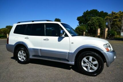 2004 Mitsubishi Pajero NP Exceed White 5 Speed Sports Automatic Wagon Enfield Port Adelaide Area Preview