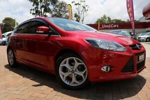 2012 Ford Focus LW MK2 Sport Red 6 Speed Automatic Hatchback Campbelltown Campbelltown Area Preview