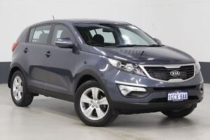 2010 Kia Sportage SL SI (FWD) Blue 5 Speed Manual Wagon Bentley Canning Area Preview