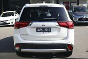 2017 Mitsubishi Outlander ZK MY17 LS 2WD Safety Pack White Solid 6 Speed Constant Variable Wagon Frankston Frankston Area Preview