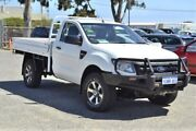 2012 Ford Ranger PX XL White 6 Speed Manual Cab Chassis Wangara Wanneroo Area Preview