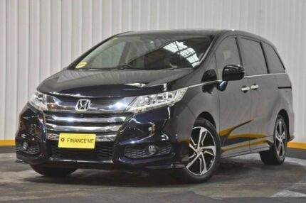 2016 Honda Odyssey RC MY16 VTi-L Black 7 Speed Constant Variable Wagon Hendra Brisbane North East Preview