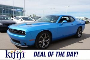2015 Dodge Challenger R/T 6 SPEED Navigation (GPS),  Leather,  S