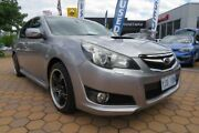 2009 Subaru Liberty B5 MY10 GT AWD Premium Silver 5 Speed Sports Automatic Sedan Greenway Tuggeranong Preview