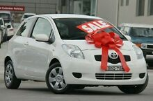 2007 Toyota Yaris NCP91R YRS White 4 Speed Automatic Hatchback Pennant Hills Hornsby Area Preview