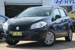 2013 Suzuki SX4 GYA MY13 Crossover Black 6 Speed Manual Hatchback Brookvale Manly Area Preview