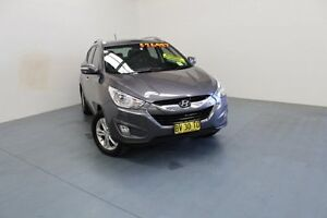 2013 Hyundai ix35 LM2 Elite AWD Grey 6 Speed Sports Automatic Wagon Hamilton East Newcastle Area Preview