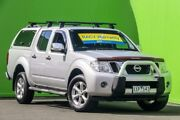 2010 Nissan Navara D40 MY10 ST-X Silver 5 Speed Automatic Utility Ringwood East Maroondah Area Preview