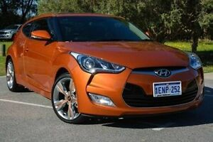 2014 Hyundai Veloster FS3 + Coupe Orange 6 Speed Manual Hatchback Wilson Canning Area Preview