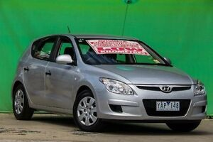 2009 Hyundai i30 FD MY09 SX Silver 4 Speed Automatic Hatchback Ringwood East Maroondah Area Preview