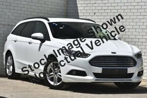 2016 Ford Mondeo MD Ambiente PwrShift Cool White 6 Speed Sports Automatic Dual Clutch Wagon South Melbourne Port Phillip Preview