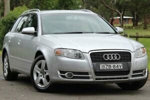 2006 Audi A4 B7 Avant Multitronic Silver 7 Speed Constant Variable Wagon Lansvale Liverpool Area Preview