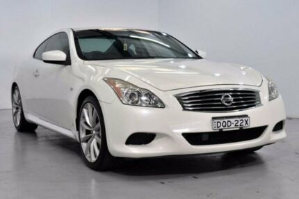2007 Nissan Skyline CKV36 370GT White Sports Automatic Coupe