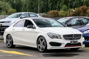 2015 Mercedes-Benz CLA250 C117 806MY Sport DCT 4MATIC White 7 Speed Sports Automatic Dual Clutch Ringwood East Maroondah Area Preview