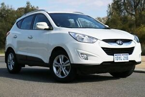 2012 Hyundai ix35 LM MY11 Elite AWD White 6 Speed Sports Automatic Wagon Wilson Canning Area Preview