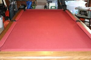 Excellent Christmas Gift 4 x 8 3 Piece Slate Pool Table