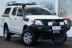 2007 Toyota Hilux GGN25R MY07 SR Super White 5 Speed Automatic Utility Upper Ferntree Gully Knox Area Preview