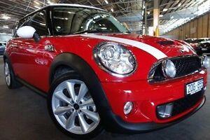 2013 Mini Hatch R56 LCI Cooper S Red 6 Speed Manual Hatchback Port Melbourne Port Phillip Preview